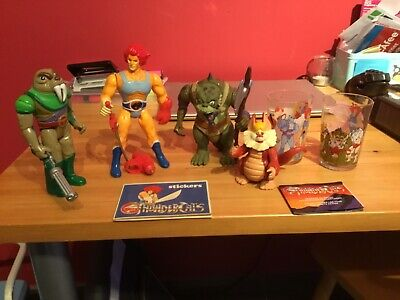 Thundercats lot vintage figures 1980's LJN