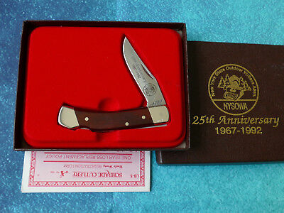 SCHRADE USA Uncle Henry LB5 Smokey Knife NEW Rare 1992 NYSOWA NY Outdoor Writers for sale  Shipping to Canada