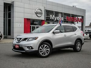 2014 Nissan Rogue SL, AWD, INTELLIGENT KEY, NAVIGATION, BACK UP
