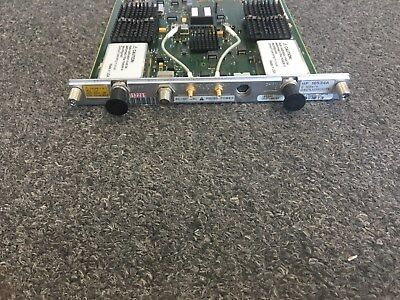 Agilent Hp 16534a 2 Gsas 2-channel 500 Mhz Bw Digitizing Oscilloscope Module