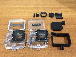 GoPro HERO 3, 4 cases and lens protection Meadowbank Ryde Area Preview