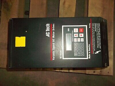 Ac Tech Variable Speed Ac Motor Drive 5hp Qc Series Q34005hb Vfd Vsd 95