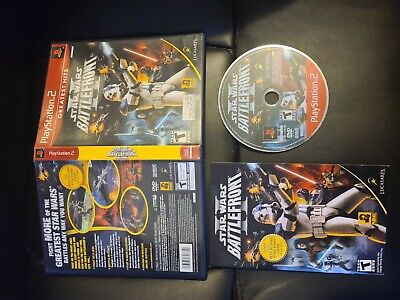 Star Wars Battlefront II Sony PlayStation 2 2005 PS2 COMPLETE FAST FREE SHIPPING