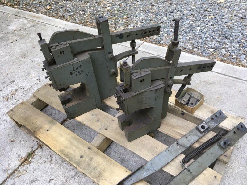 Mechanical Arbor Press Stamping Vintage Blacksmithing Dies