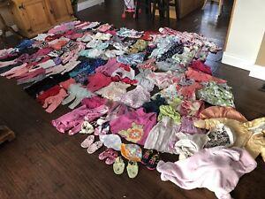 Huge lot of girls 6-12 month clothes