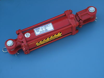 Red Cross Tie Rod Double Action Hydraulic Cylinder 3 Bore 6 Stroke G32b