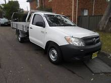2008 TOYOTA HILUX 1 OWNER 2.7 EFI WORKMATE WITH LOG BOOKS North Parramatta Parramatta Area Preview