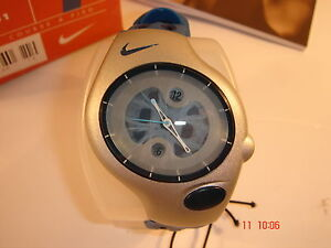 Nike Triax Analogue Super Sports Blue Watch Unisex Adult Child 20-401 BOGOF RARE