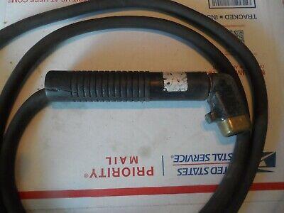 Welding Rod Electrode Holder Stinger Pre Owned 7 Foot Lead Twist Head Bernard