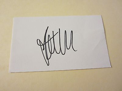 Kelly Kelly Wrestler Autographed Signed 3X5 Index Card WWE Wrestling (Kelly Kelly Wrestler)
