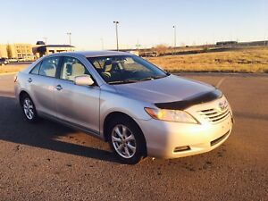 Toyota Camry 2008 with Winter tires-Almost new