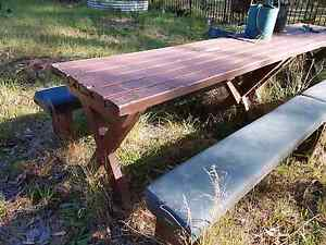 Pub table  wooden East Kurrajong Hawkesbury Area Preview