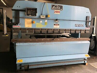 Guifil 110 Ton X 121 Bed Hydraulic Up Acting Press Brake Pe-30-100
