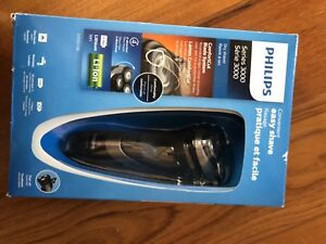 Philips series 3000 dry shaver with pop up trimmer