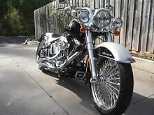 Harley Davidson Softail Deluxe  2011 FLSTN Custom Montrose Yarra Ranges Preview