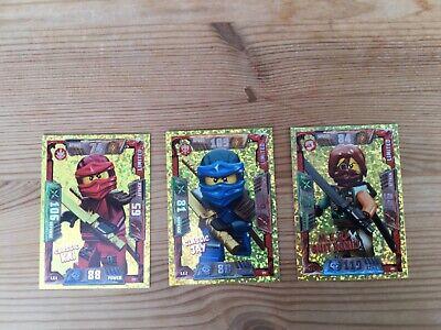 lego ninjago trading cards 2017 series Team Cards (Ninjas)