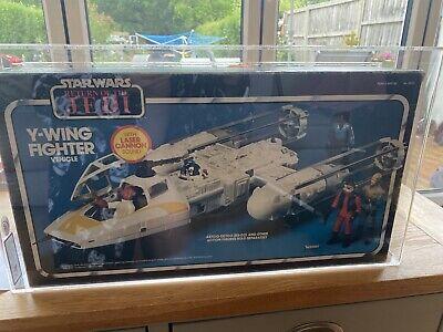 Y Wing Fighter Ukg UK Graded 70% Vintage Star Wars Figures Ships Vehicles Mint