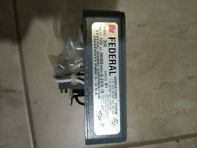 Federal Signal 350 Vibratone Horn Series B-1 Nib