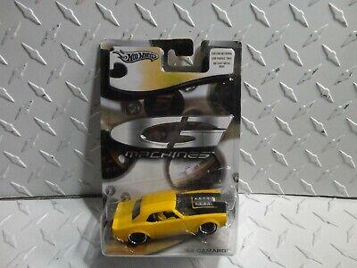 Hot Wheels G-Machines Yellow '68 Chevy Camaro w/Real Riders