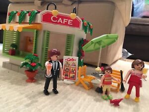 Playmobil Harbour Cafe & Accessories