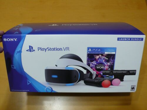 PlayStation VR Virtual Reality Launch Bundle & PS5 Camera Adapter - Sony PSVR