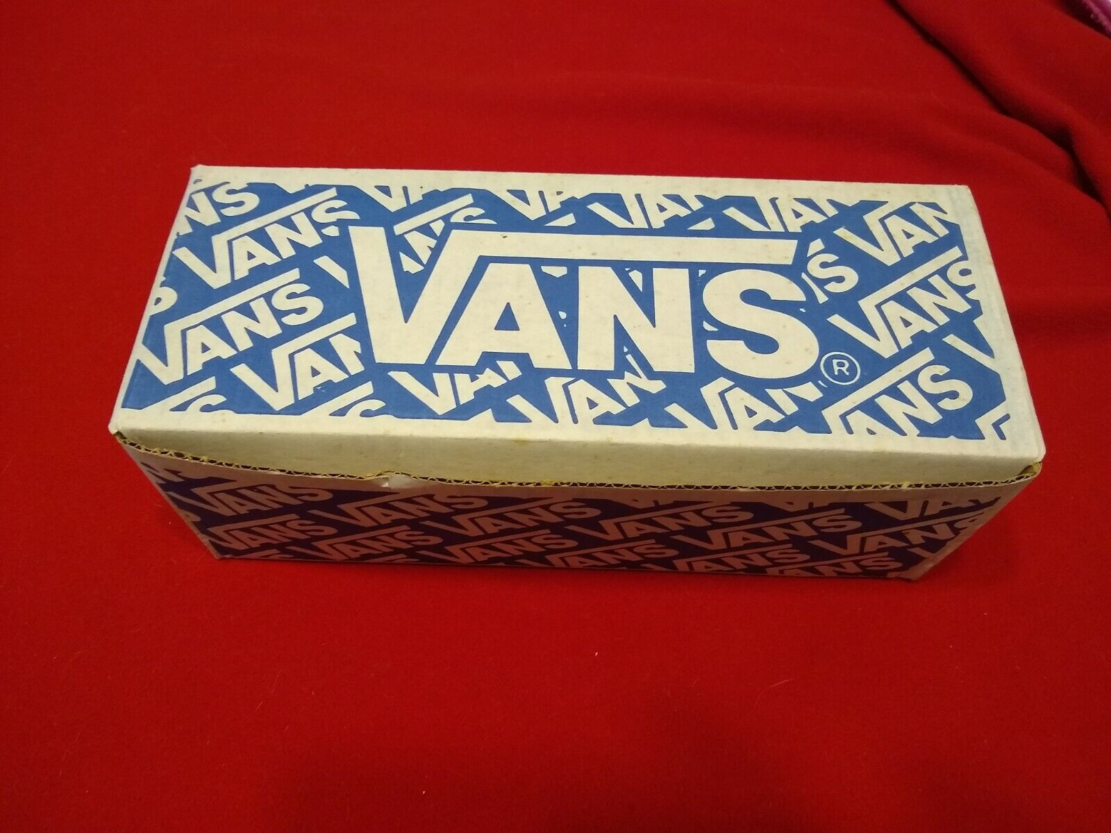 RARE vintage NOS vans shoes ERA 95 80s FLORAL PRINT 11 USA made