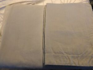 Beige Thin Cord Duvet Cover