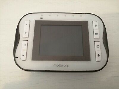 Motorola baby monitor parent unit