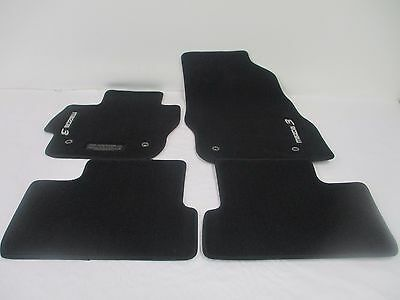 Oem 2010 2013 Mazda 3 Black Carpet Floor Mats Mat Set  0000 8B L65