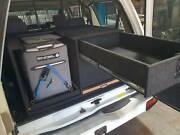 Nissan GU Patrol Rear Drawers with fridge slide Herne Hill Swan Area Preview