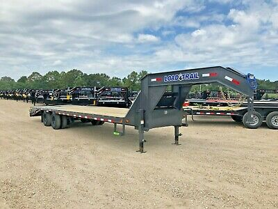 30 X 102--deckover Gooseneck--210k--max Ramps--gray--brand New--load Trail