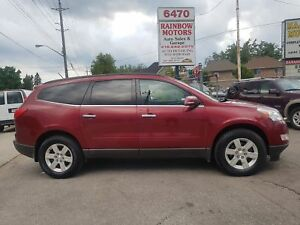 2011 Chevrolet Traverse LT 7SEATER SUNROOF LOADED LOW KM  $13475