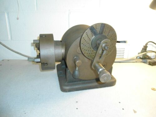 "L-W Chuck Co. Dividing Head with 6"" Chuck"