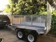 8×5 TANDEM GALVANISED  HEAVY DUTY TRAILER WITH A RAMP Hampton Park Casey Area Preview
