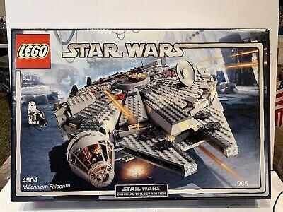 Factory Sealed Lego Star Wars 4504 Original Trilogy Edition Millennium Falcon