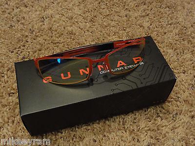 Gunnar Optiks PPk Advanced Computer/Gaming Eyewear - Heat/Onyx - Amber