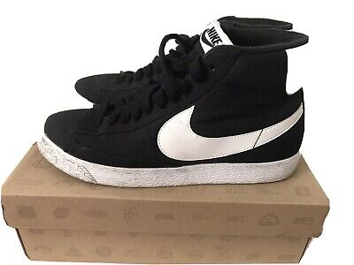 Nike Blazer Black Mid UK6