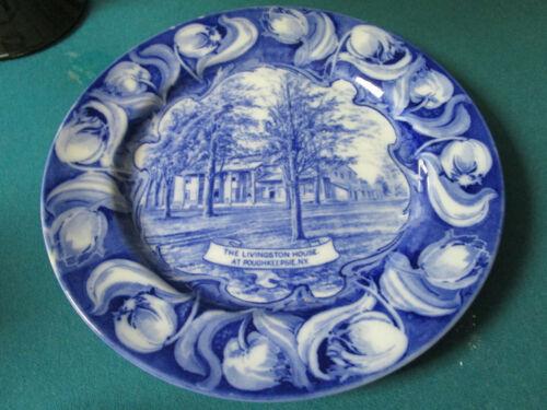 Livingston House in Poughkeepsie Plate, New York ROYAL DOULTON