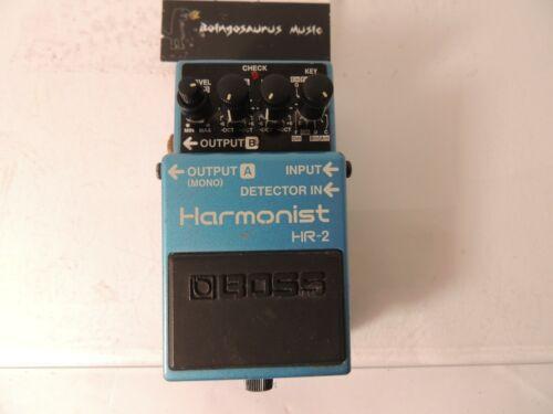 Boss HR-2 Harmonist Effects Pedal Harmonizer Pitch Shifter Free USA Ship