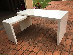 IKEA Malm desk with pull out panel, white Cabramatta West Fairfield Area Preview