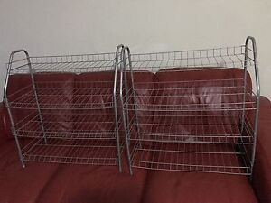4 pair shoes rack for selling $10 each pair Chatswood Willoughby Area Preview