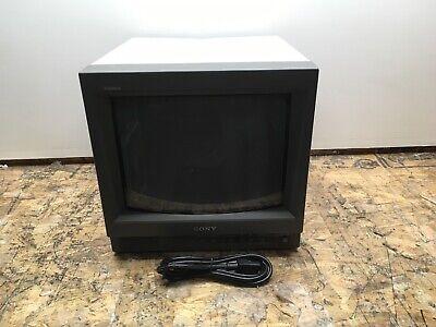 Sony Trinitron Color Video Monitor PVM-14L1