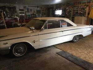 Nineteen sixty three and half ford galaxy 500 XL