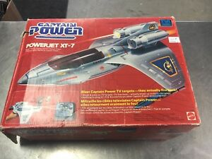 Captain Power power jet xt-7 in good condition