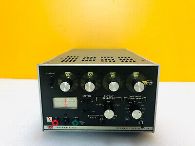 Keithley 227 - 1 Ma To - 1000 Ma Current Source For Parts Repair