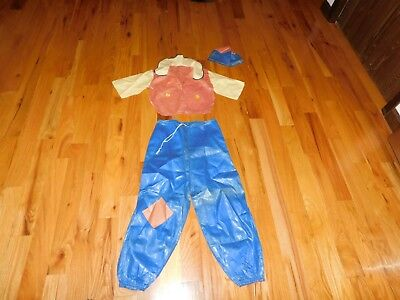 Child Jester Vintage Halloween Outfit Cotton Size Large Authentic Original (Halloween Outfits Original)