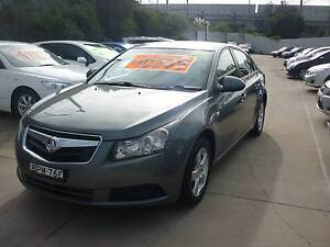 2010 Holden Cruze Sedan 26/06/18 REGO THIS WEEK SPECIAL Harris Park Parramatta Area Preview
