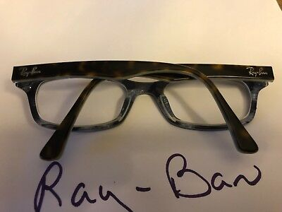 Ray-Ban RB 5150 5023 Tortoise Baby Blue 5019 135 Glasses (Baby Blue Ray Bans)