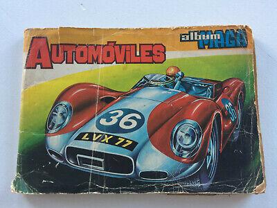 Album Automoviles MAGA Figurine auto Stickers album Album autocollant Panini