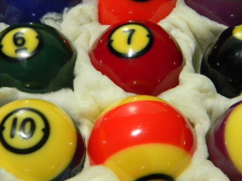Vintage Brunswick Centennial Precision Balanced Pool Balls – Complete Set